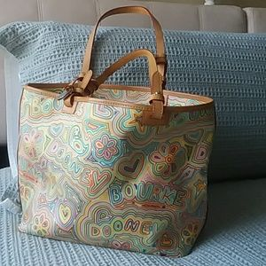 Fun and Unique Booney and Burke Leather Handbag